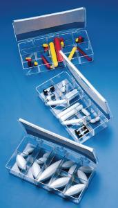 Barreaux d'agitation magnétique, kits conditionnés en boîte