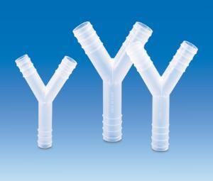 Tubing connectors, Y-shaped