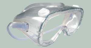 Lunettes-masques pour salles blanches, stériles, usage unique
