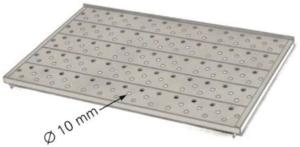 Perforated Stainless Steel Shelves for Memmert ICP Cooled Incubators