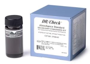 DR/check absorbance standard kit (set contains four vials filled with gels at increasing absorbance values)