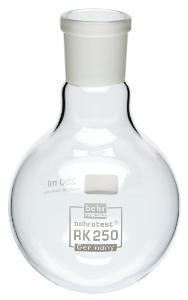 RK 250 Round-bottomed flask 250 ml, for 60 ml and 100 ml extraction, (NS 29/32)