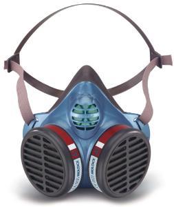 Masques de protection contre les gaz, les vapeurs et les particules FFA1/FFA2/FFA3 séries5000, à usage unique