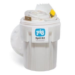 Spill kit oil-only in a 360 l overpack