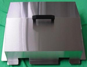 Stainless steel gable cover